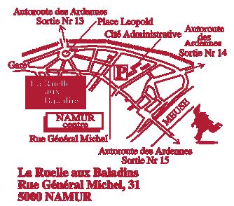 rue Général Michel, 31 - 5000 Namur